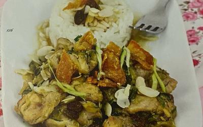 Bocconcini di pollo alla thailandese